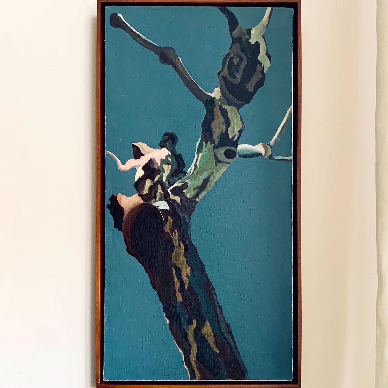Horizons - Contemporary Acrylic on Linen Canvas - image-3