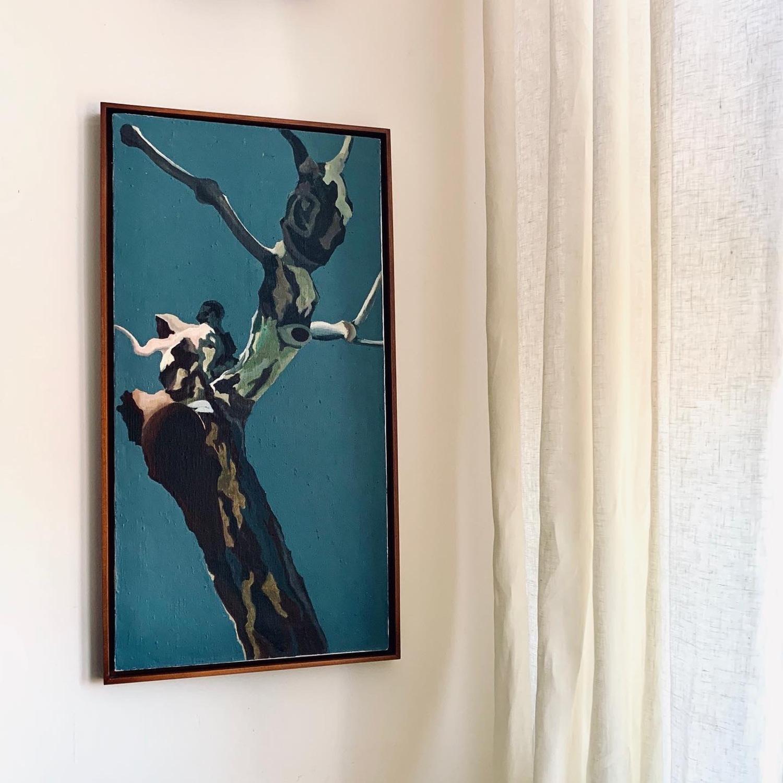 Horizons - Contemporary Acrylic on Linen Canvas - image-1