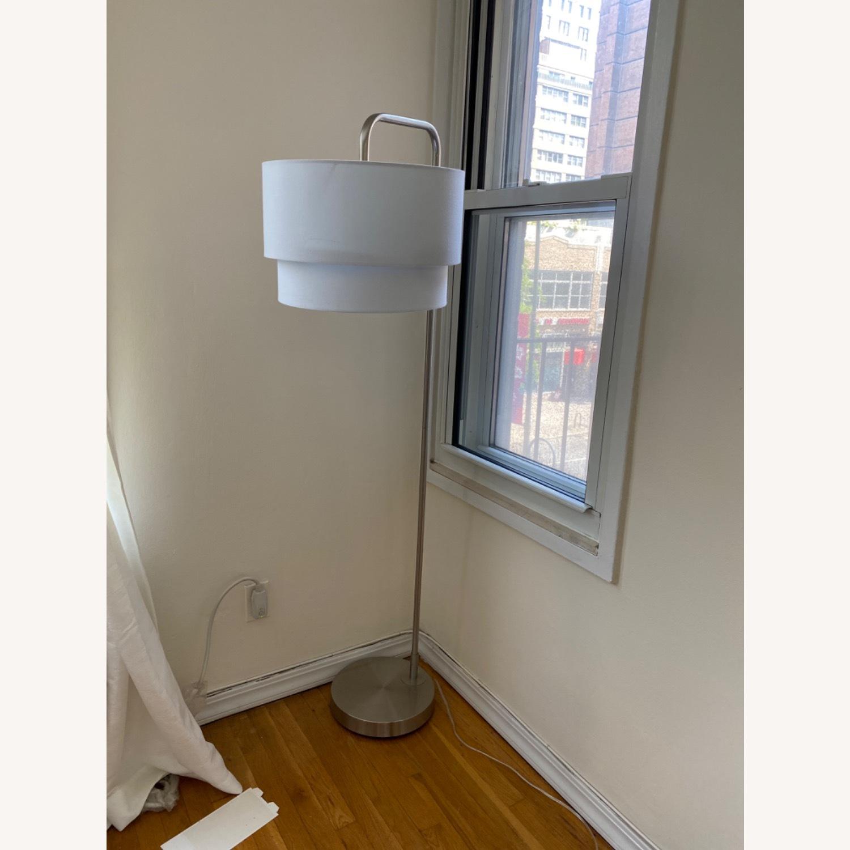 White Floor Lamp - image-4
