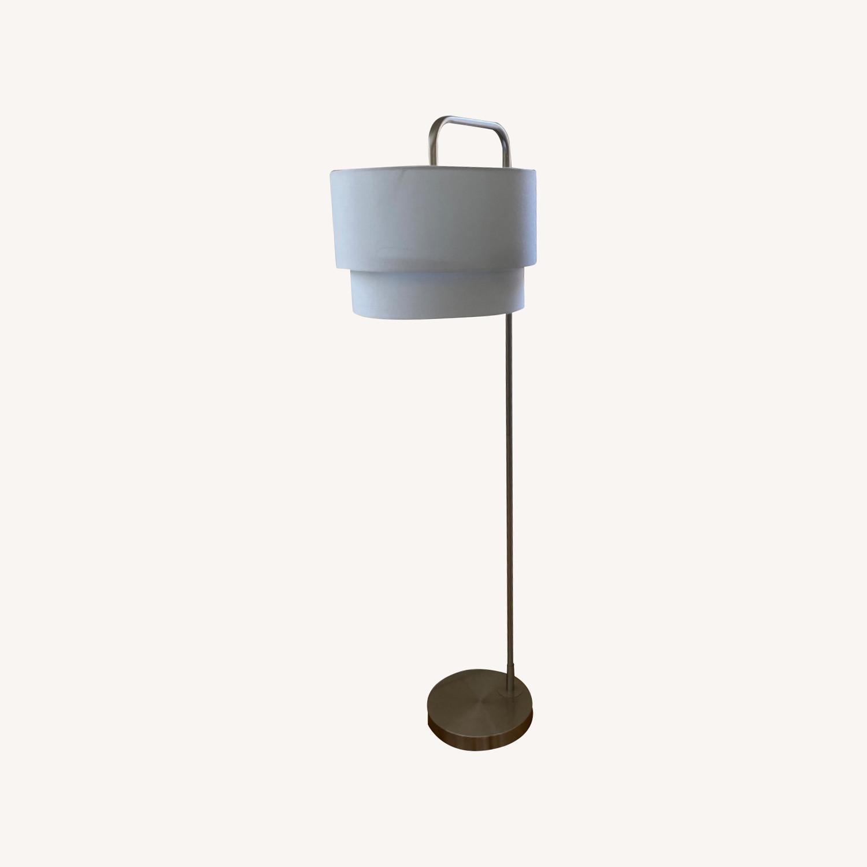 White Floor Lamp - image-0
