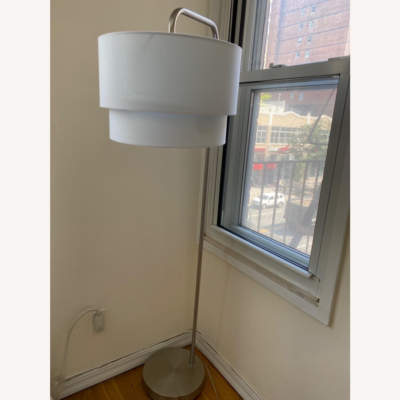 White Floor Lamp - image-1
