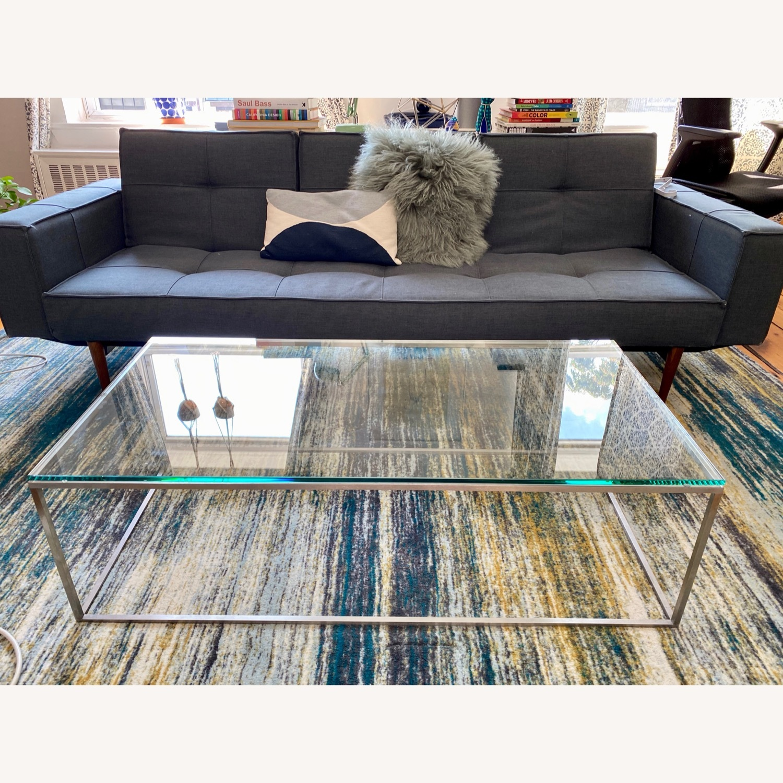 Room & Board Tyne Glass Coffee Table - image-2