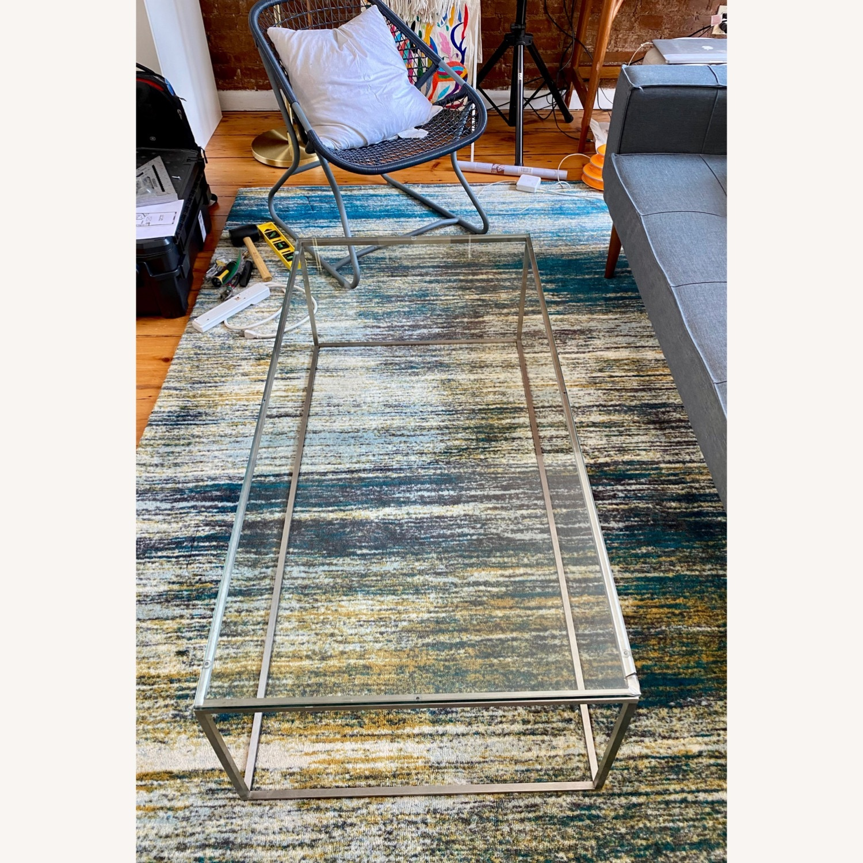 Room & Board Tyne Glass Coffee Table - image-3