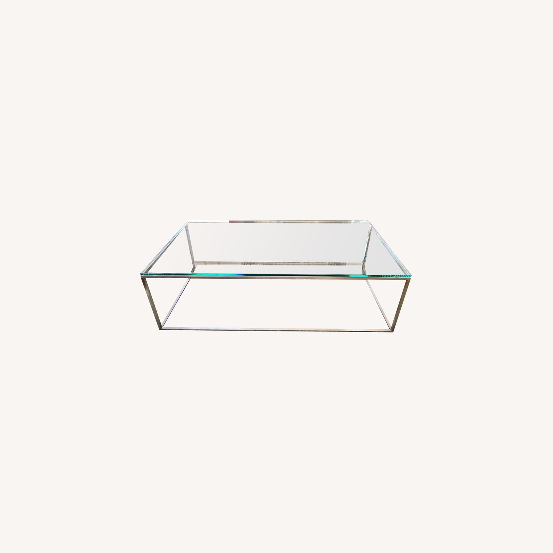 Room & Board Tyne Glass Coffee Table - image-0