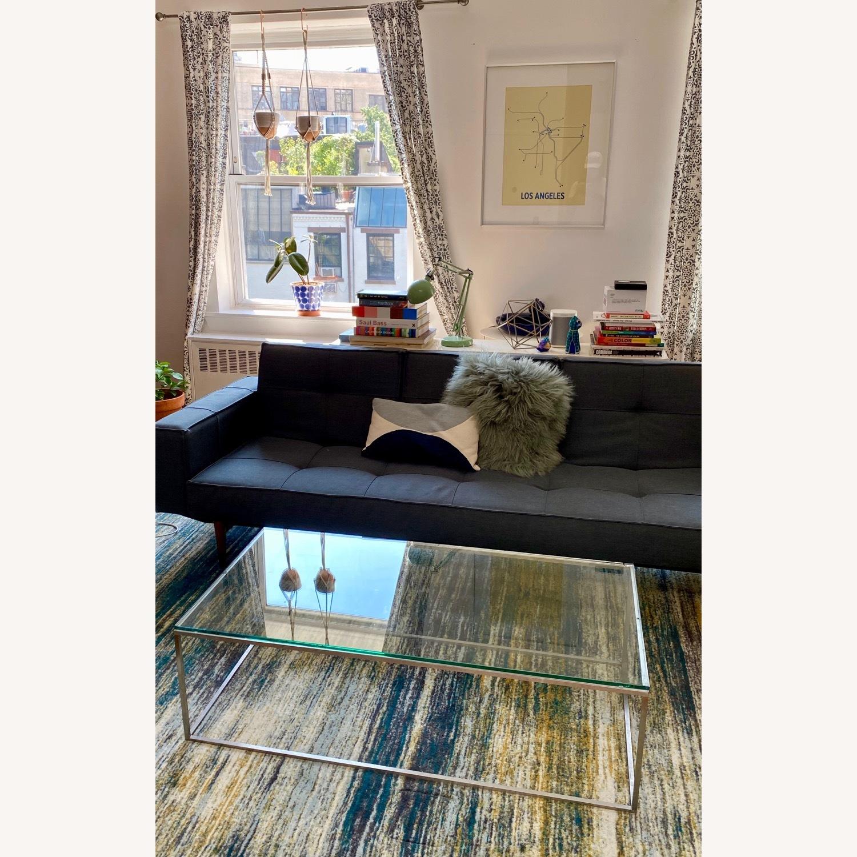 Room & Board Tyne Glass Coffee Table - image-1