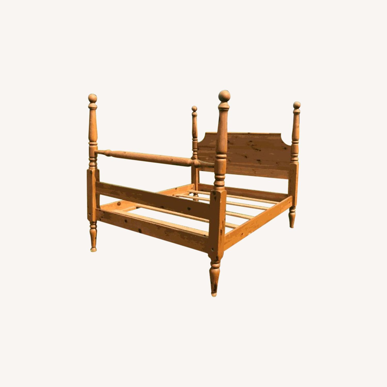 Restoration Hardware Four-poster Queen Bed - image-0