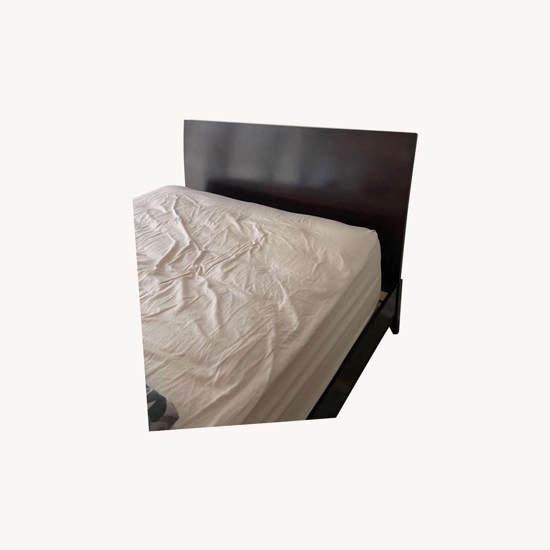 Crate & Barrel Queen Platform Bed - image-5