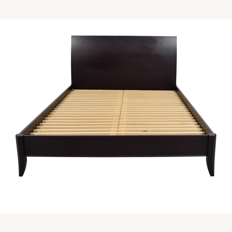 Crate & Barrel Queen Platform Bed - image-6
