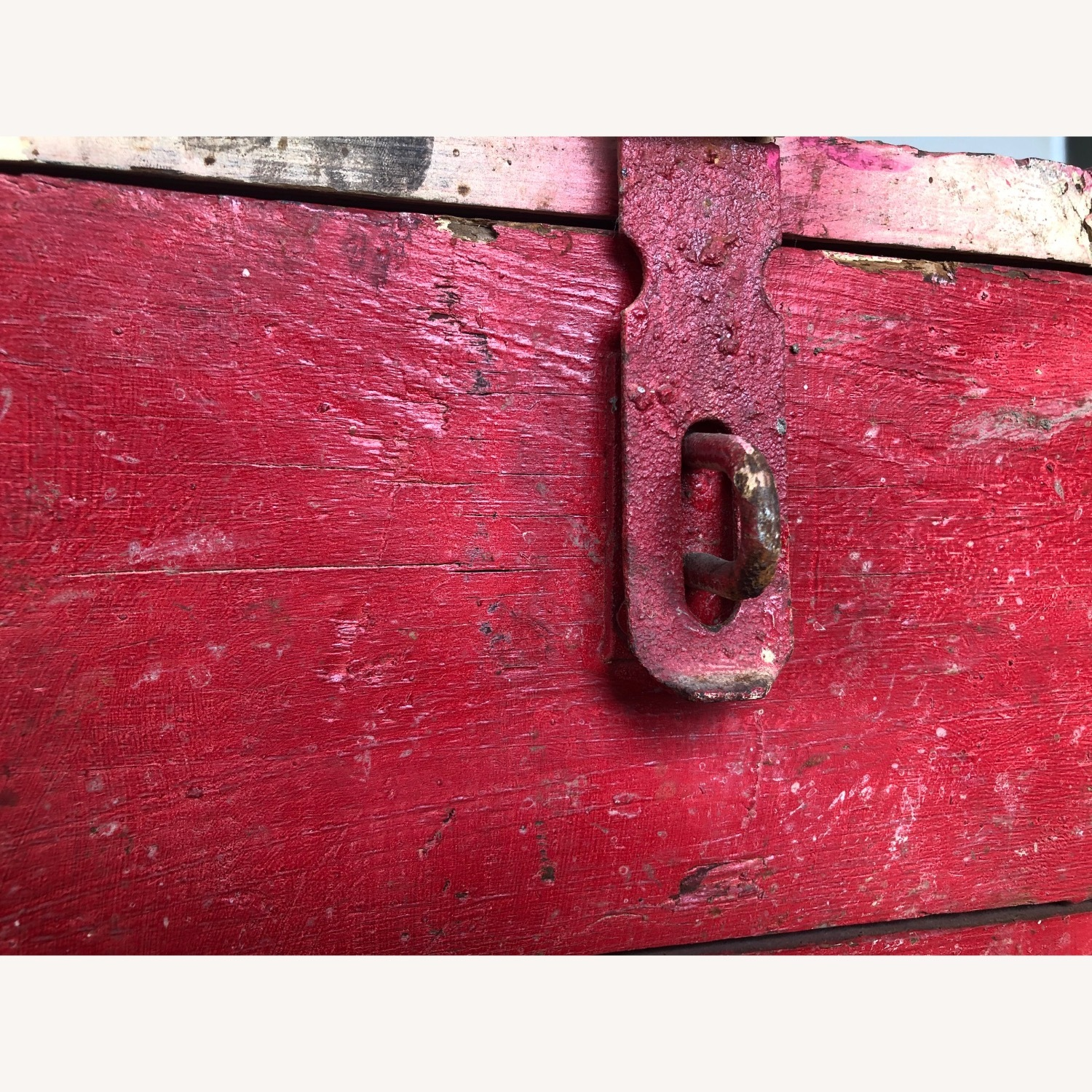 Hand-made Rustic Wooden Storage Box - image-3