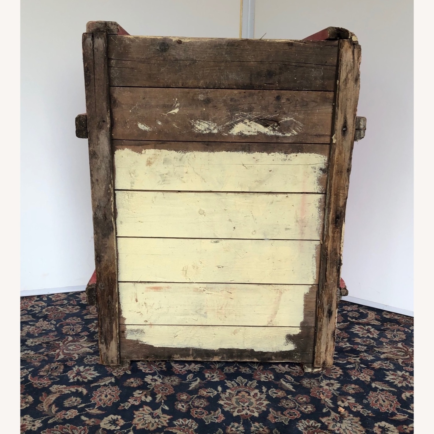 Hand-made Rustic Wooden Storage Box - image-4