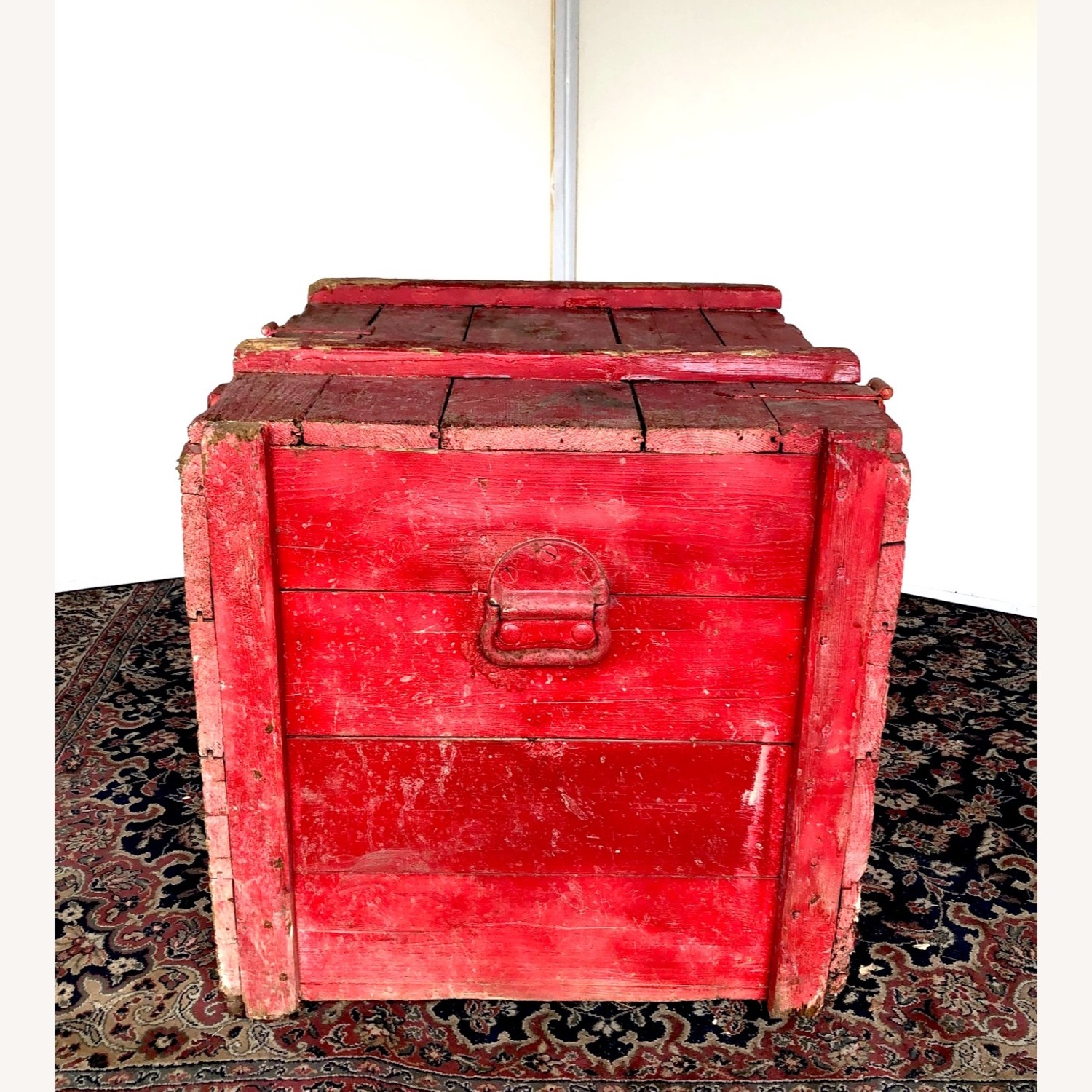 Hand-made Rustic Wooden Storage Box - image-8