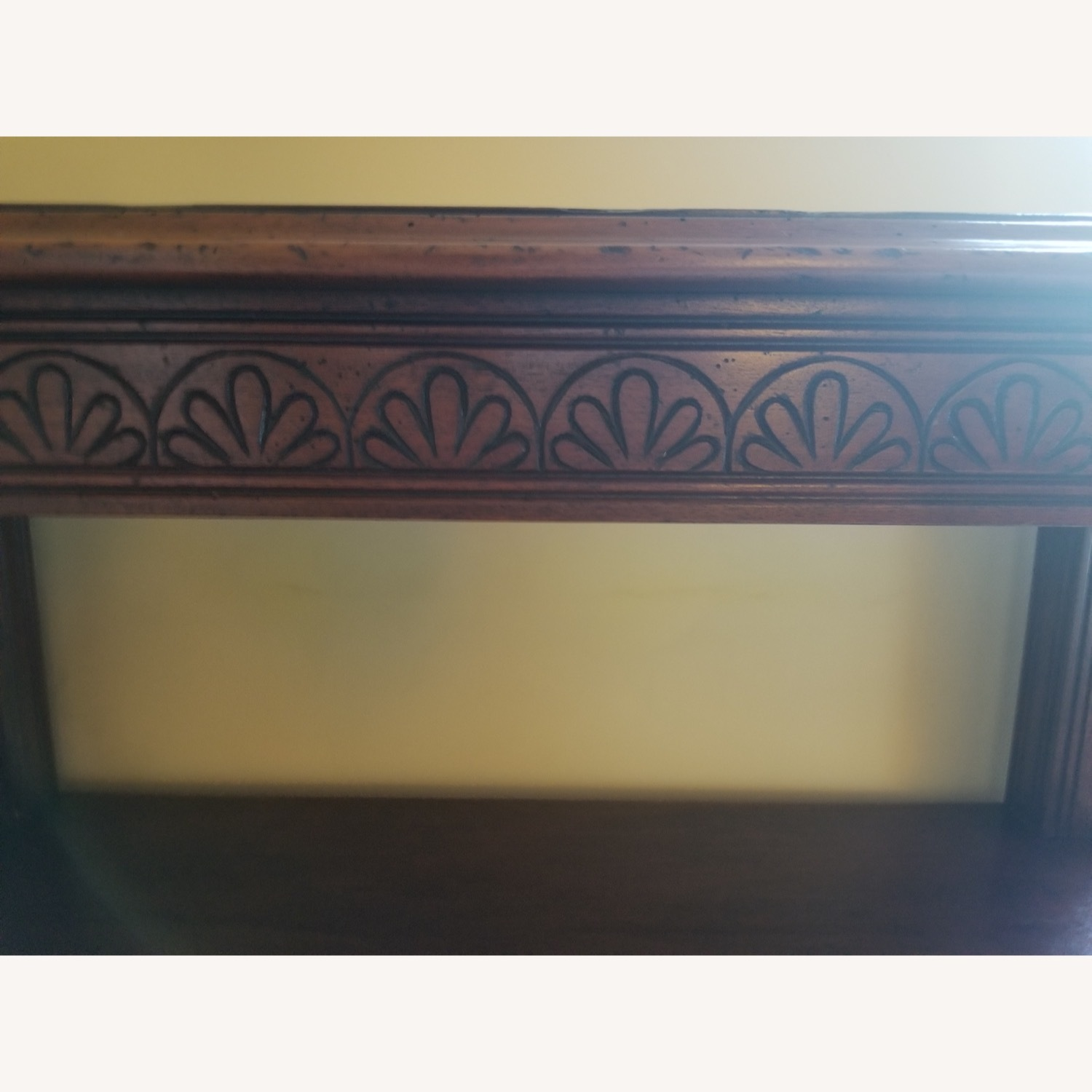 Traditional Wood Bookcase with Detail - image-3