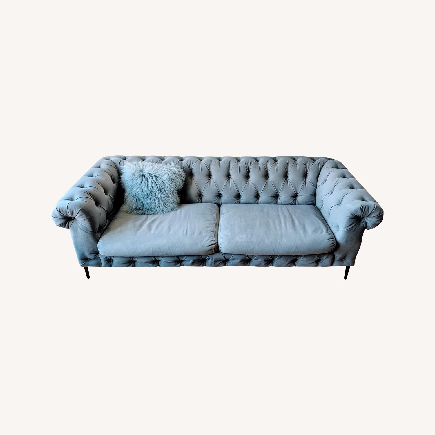 Anthropologie Canal Tufted Sofa - image-7