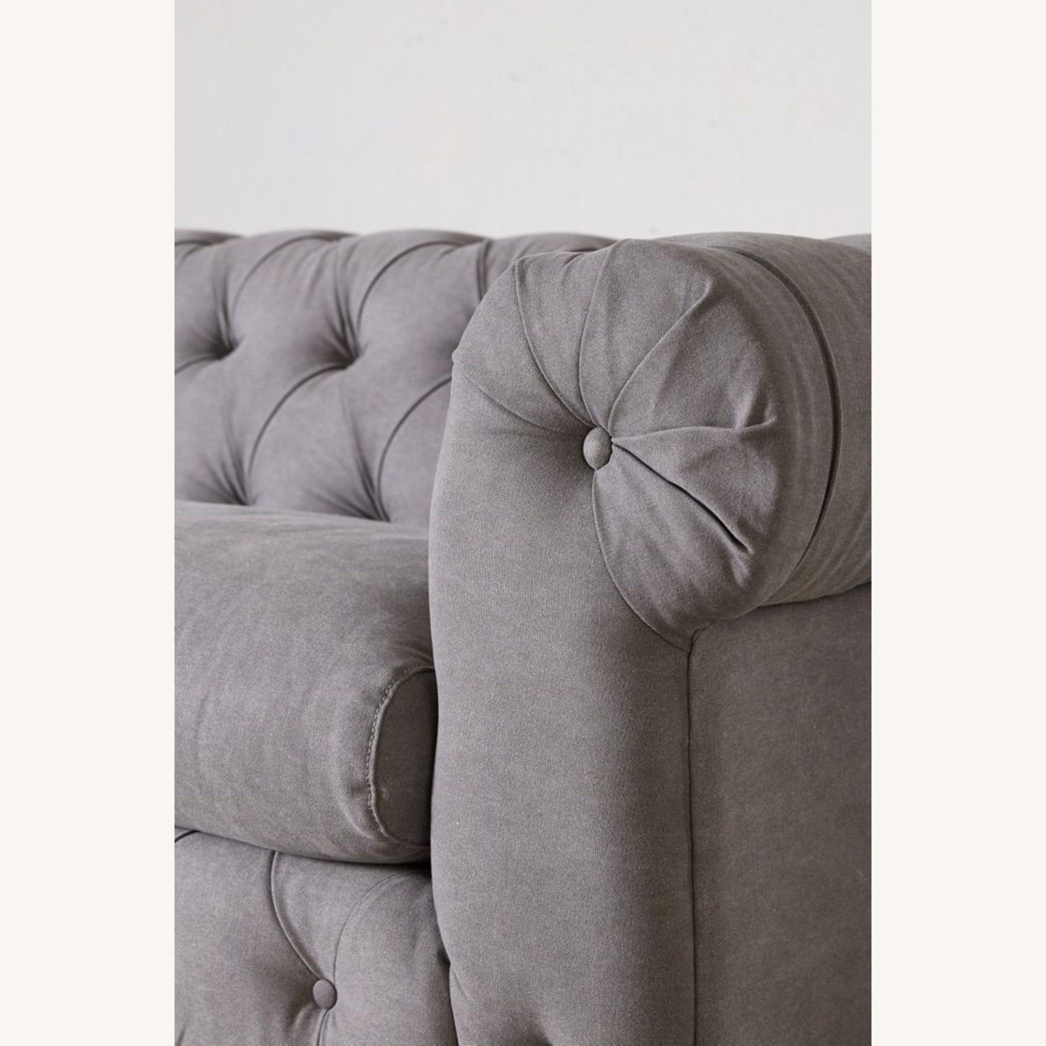 Anthropologie Canal Tufted Sofa - image-6
