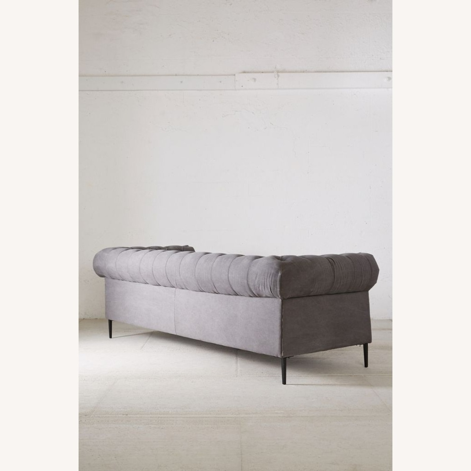 Anthropologie Canal Tufted Sofa - image-4