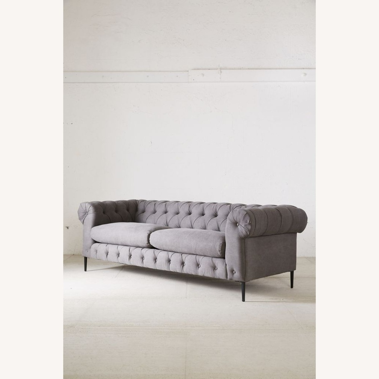 Anthropologie Canal Tufted Sofa - image-2