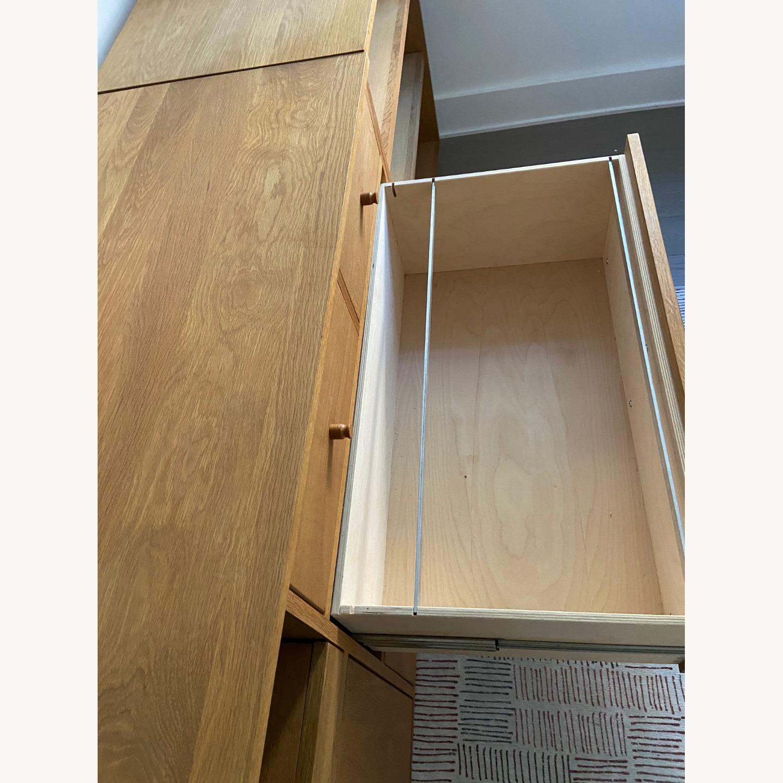 Room & Board Custom Desk w Filing Cabinets - image-5