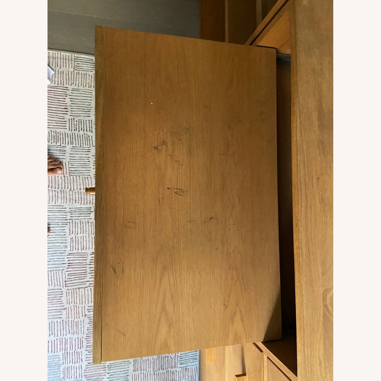 Room & Board Custom Desk w Filing Cabinets - image-4