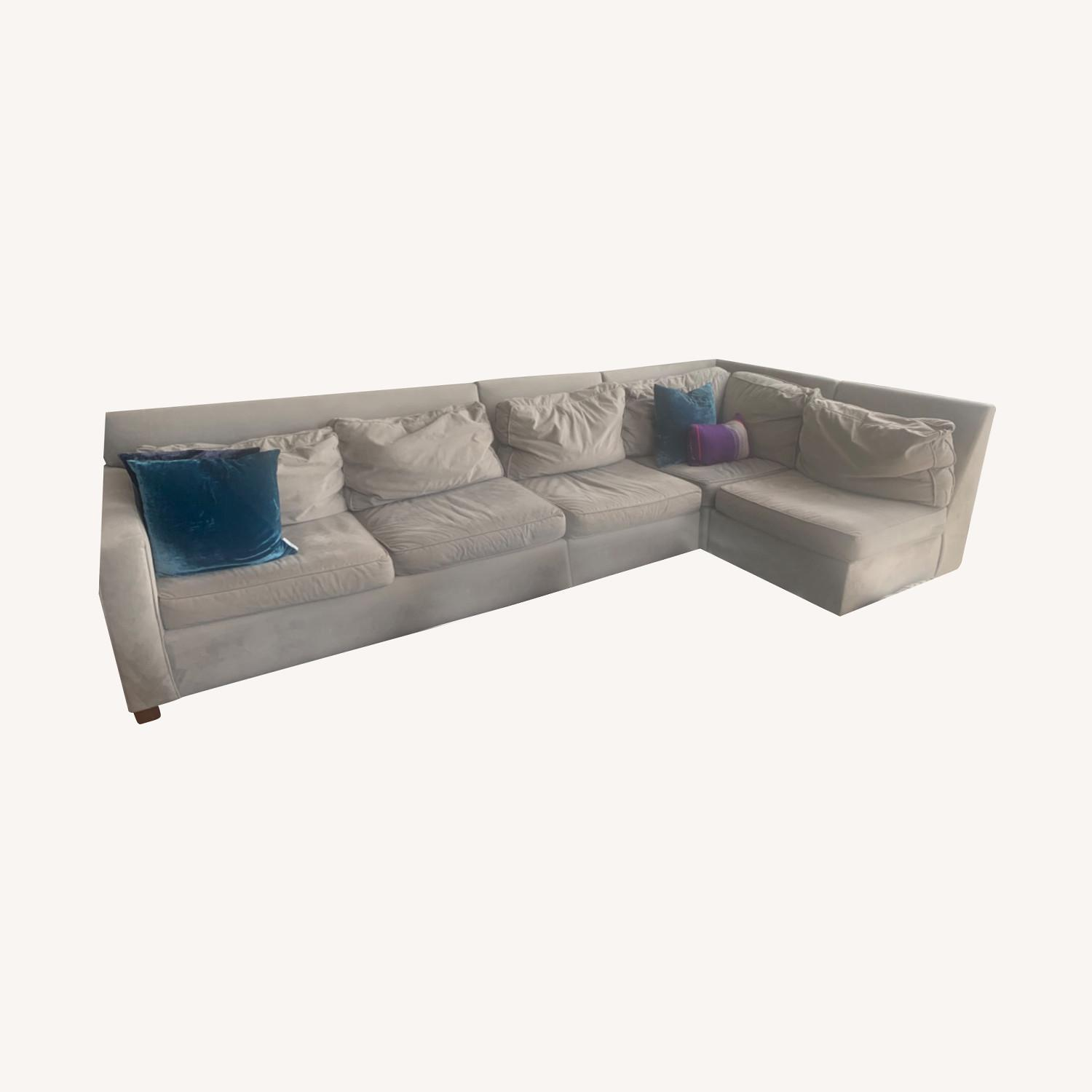 West Elm 4 Piece Henry Sectional - image-0