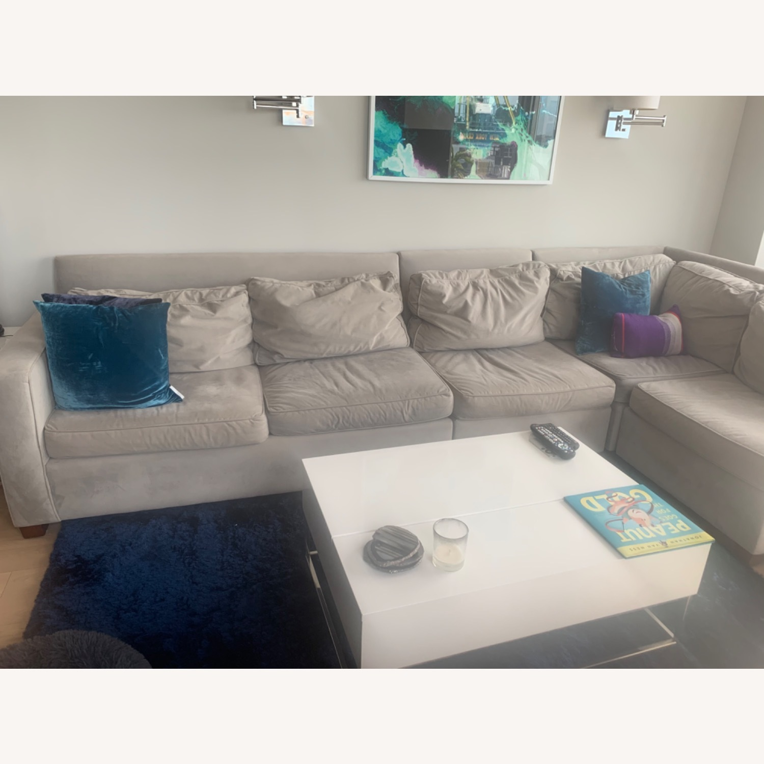 West Elm 4 Piece Henry Sectional - image-2