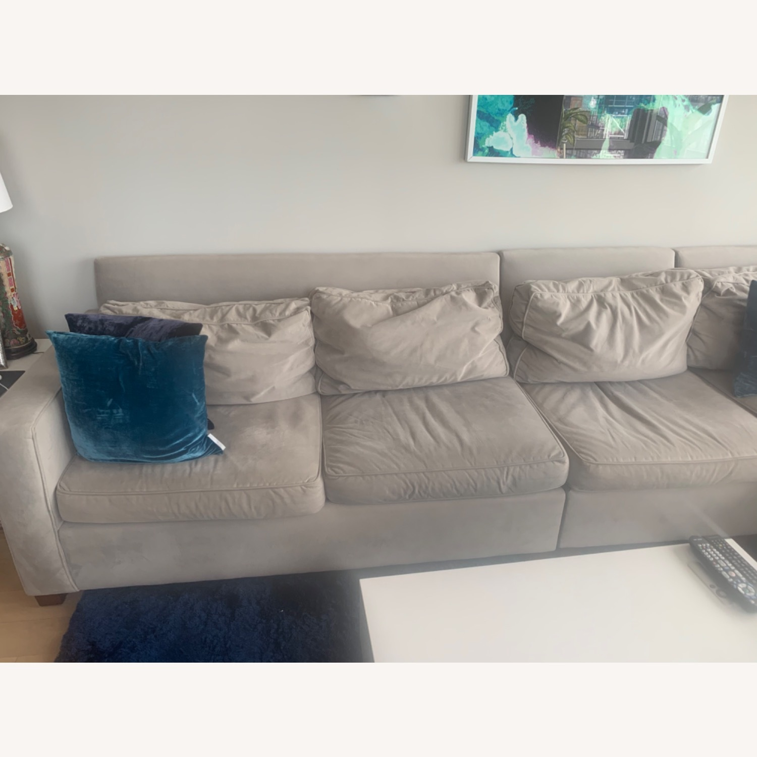 West Elm 4 Piece Henry Sectional - image-4
