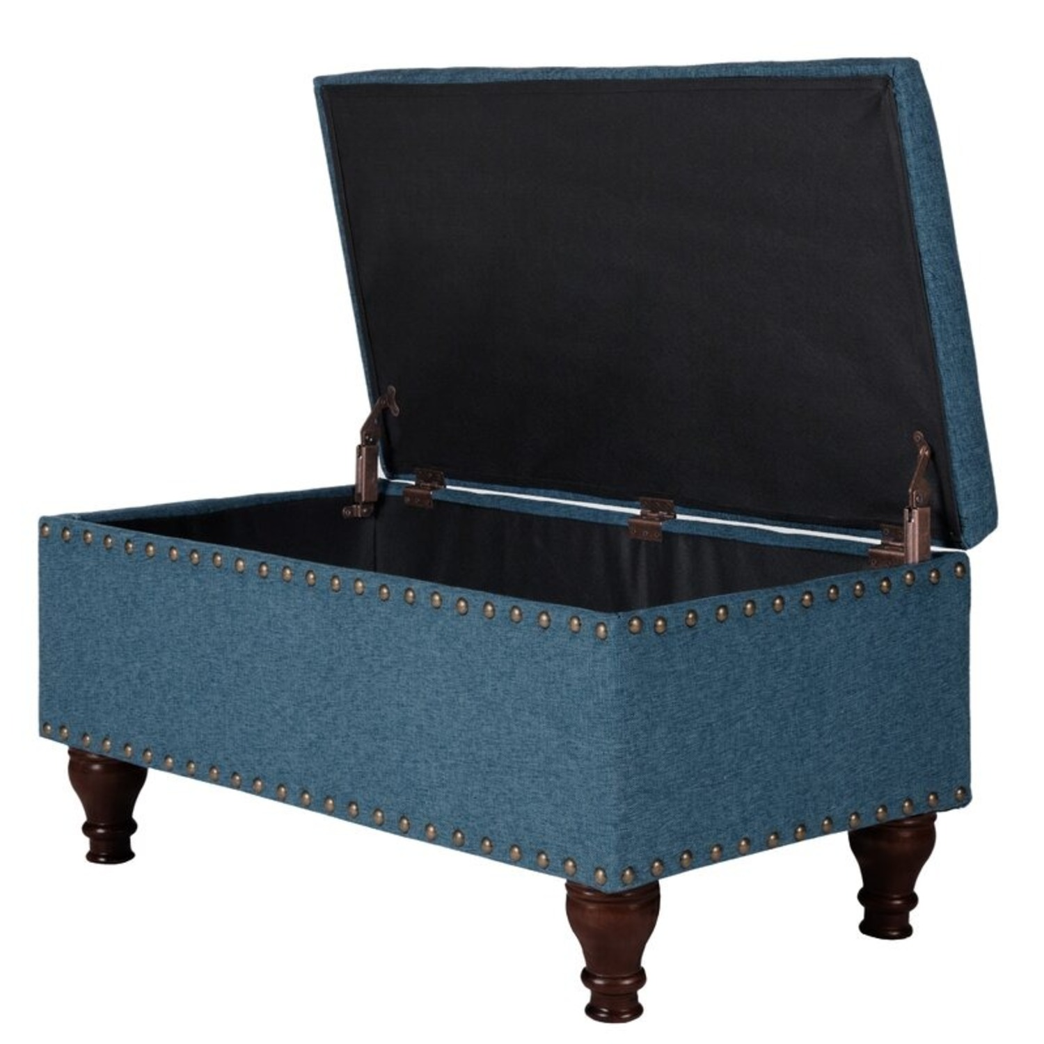 Wayfair Oakford Upholstered Flip Top Storage Bench - image-3