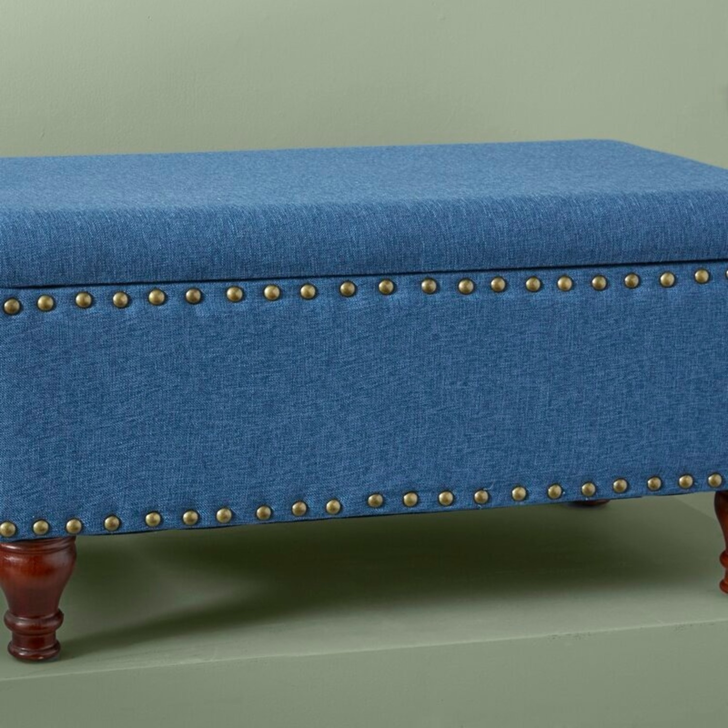 Wayfair Oakford Upholstered Flip Top Storage Bench - image-4
