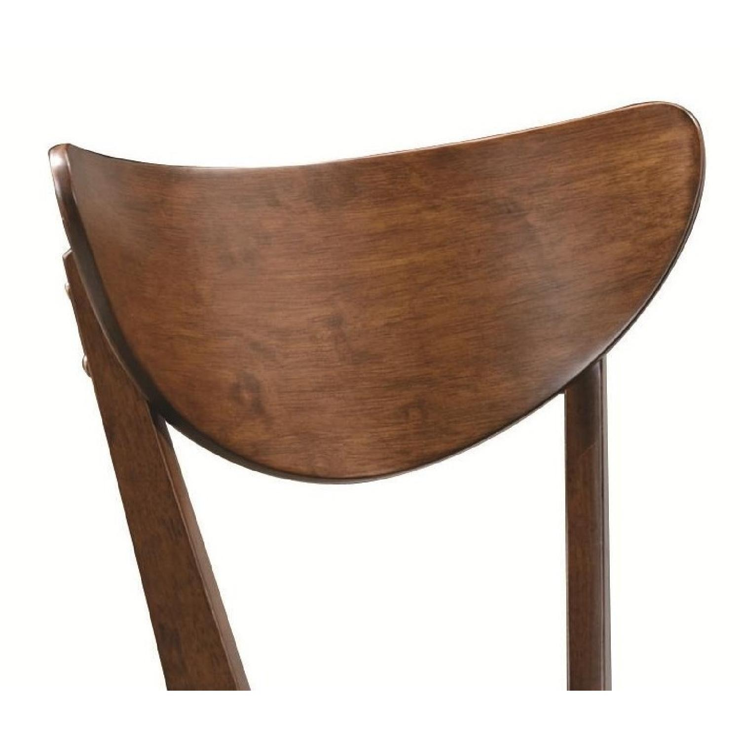 Mid-Century Retro  Dining Chairs in Walnut Finish - image-3