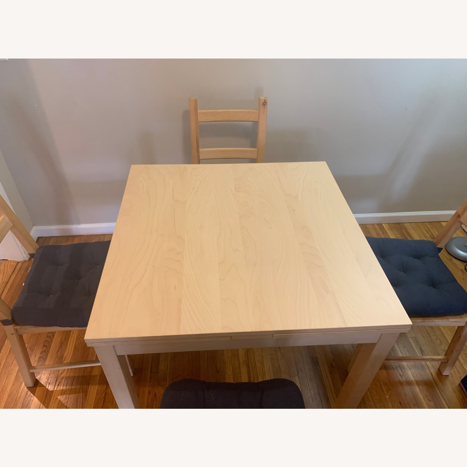 IKEA Extendible Dining Table and Chairs - image-1