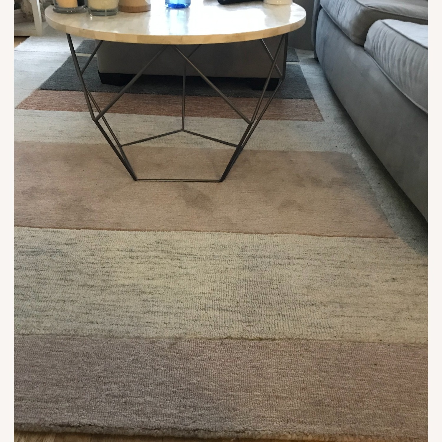 West Elm Capstone Rug in Dusty Blush - image-1