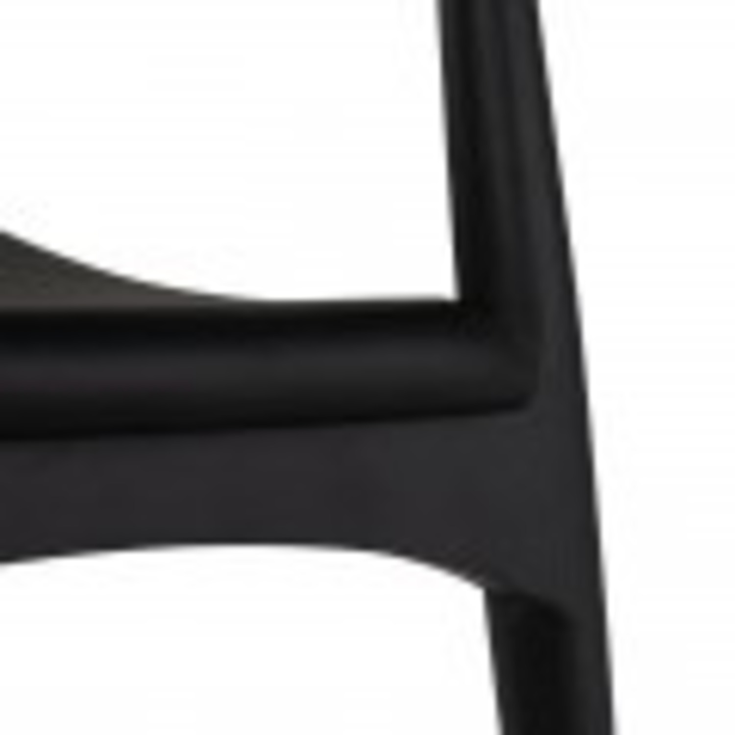 Set of 4 Leather Seat Dining Chairs - image-2