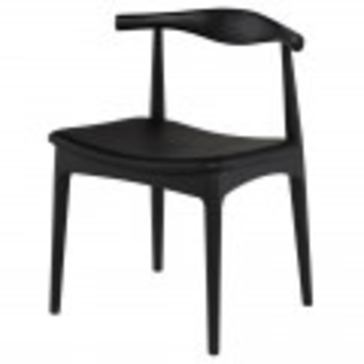 Set of 4 Leather Seat Dining Chairs - image-1