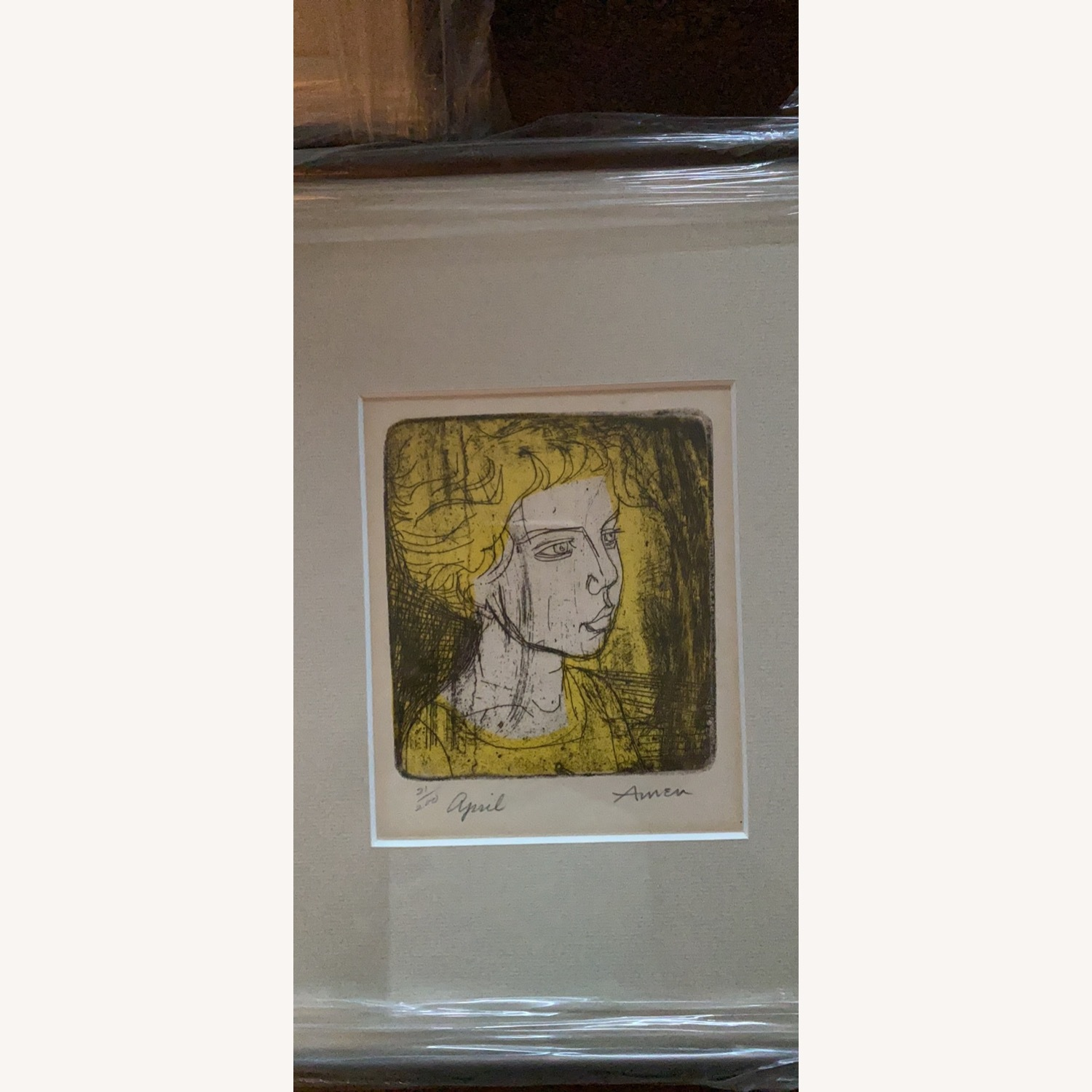 Pencil Signed and Dated Irving Amen Trilogy - image-4