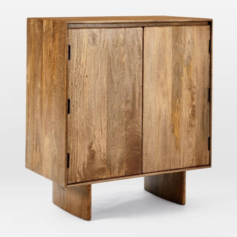 West Elm Anton Solid Wood Bar - image-3