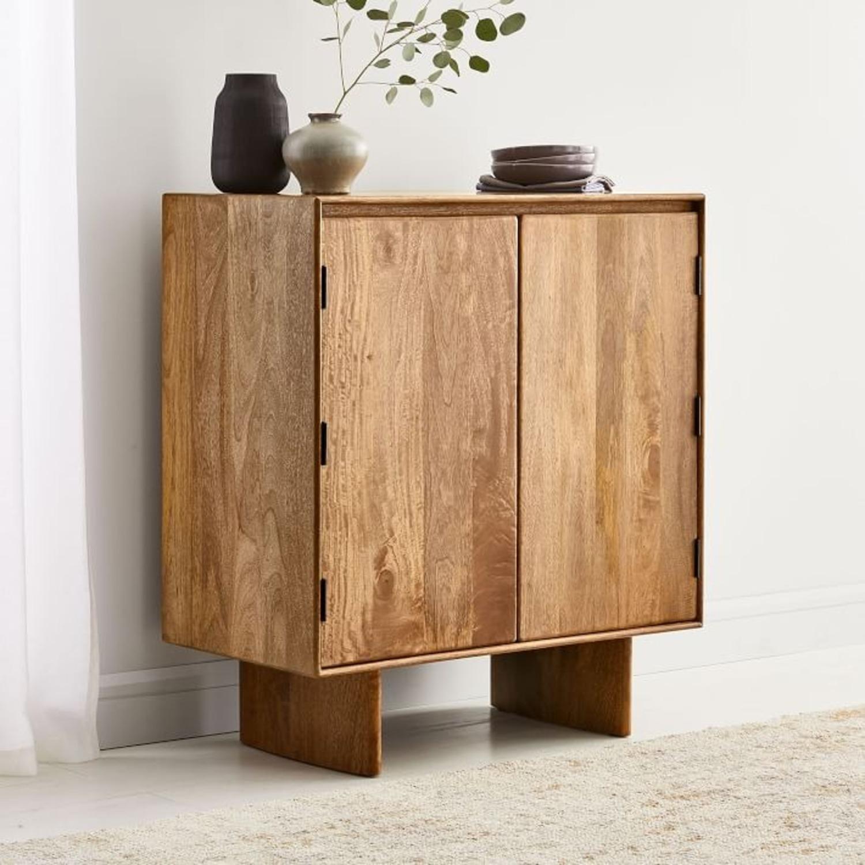 West Elm Anton Solid Wood Bar - image-1