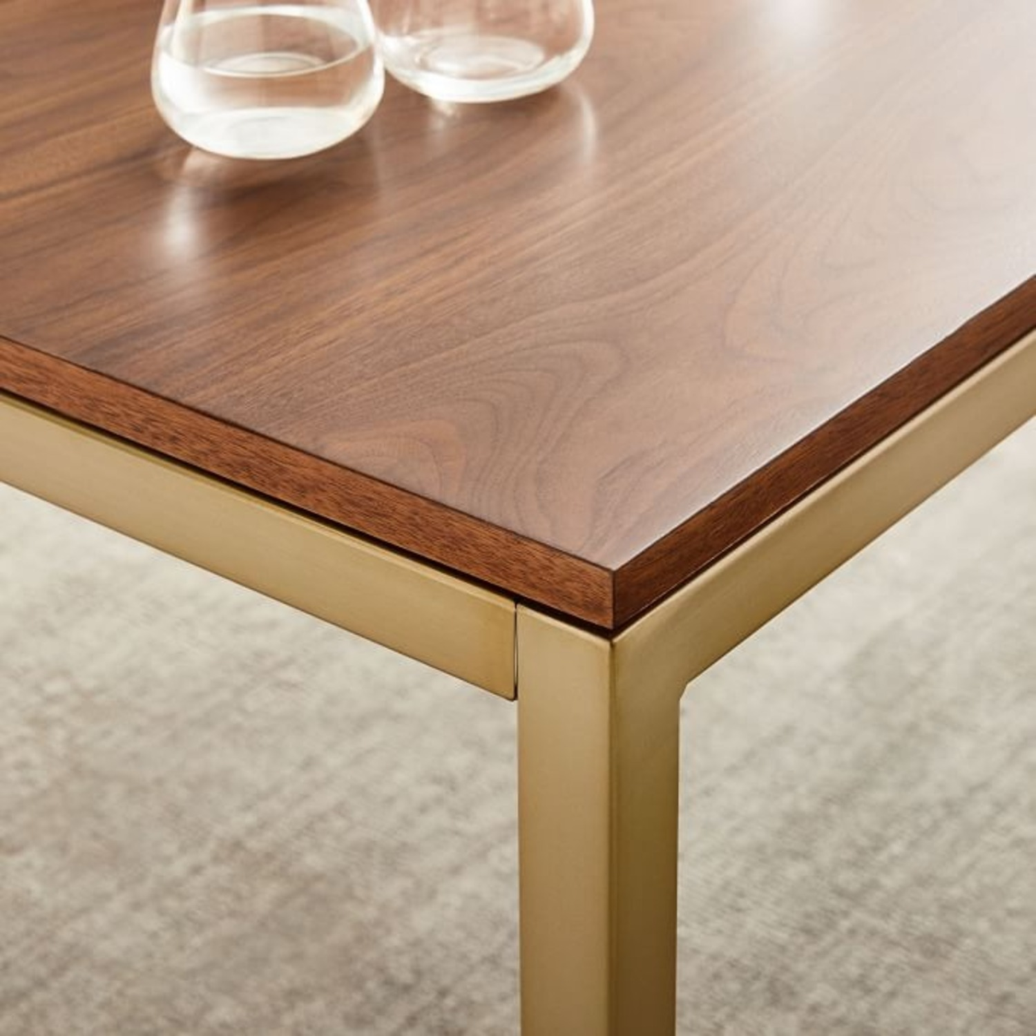 West Elm Frame Expandable Dining Table - image-1