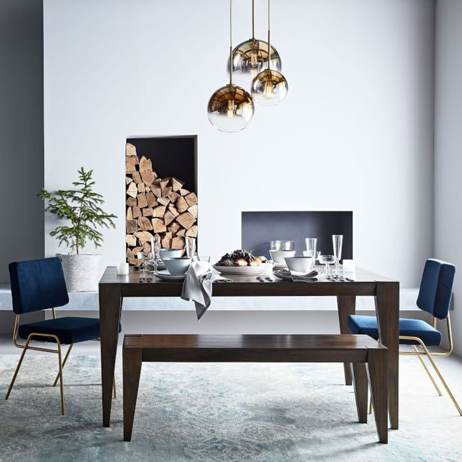 West Elm Anderson Expandable Dining Table - image-1