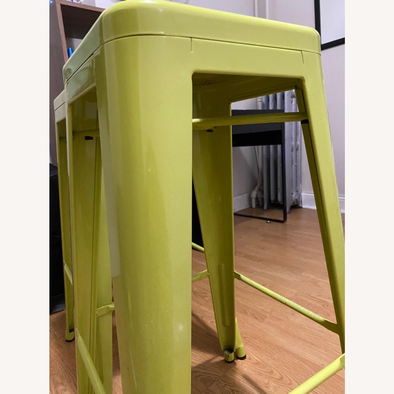 Wayfair Neon Green Stool - image-1