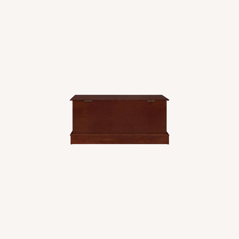 Cedar Chest W/ A Decorative Accent In Warm Brown - image-5
