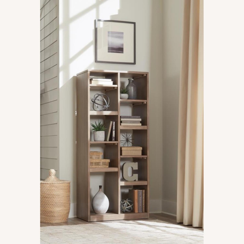 Etagere W/ Multiple Shelves In Sandstone Finish - image-2