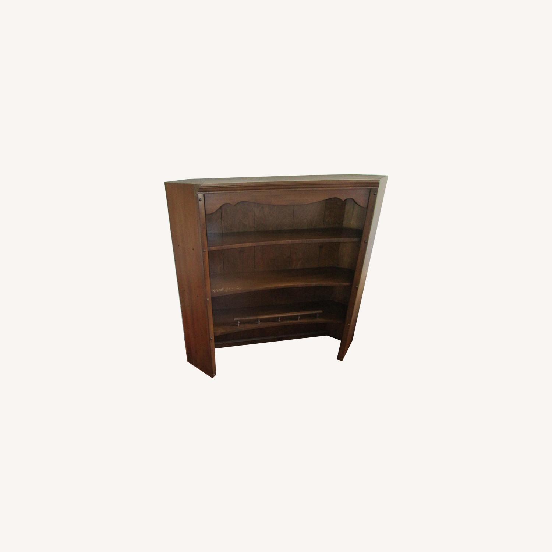 Maple Dresser, Desk, & Book Shelf Unit - image-0