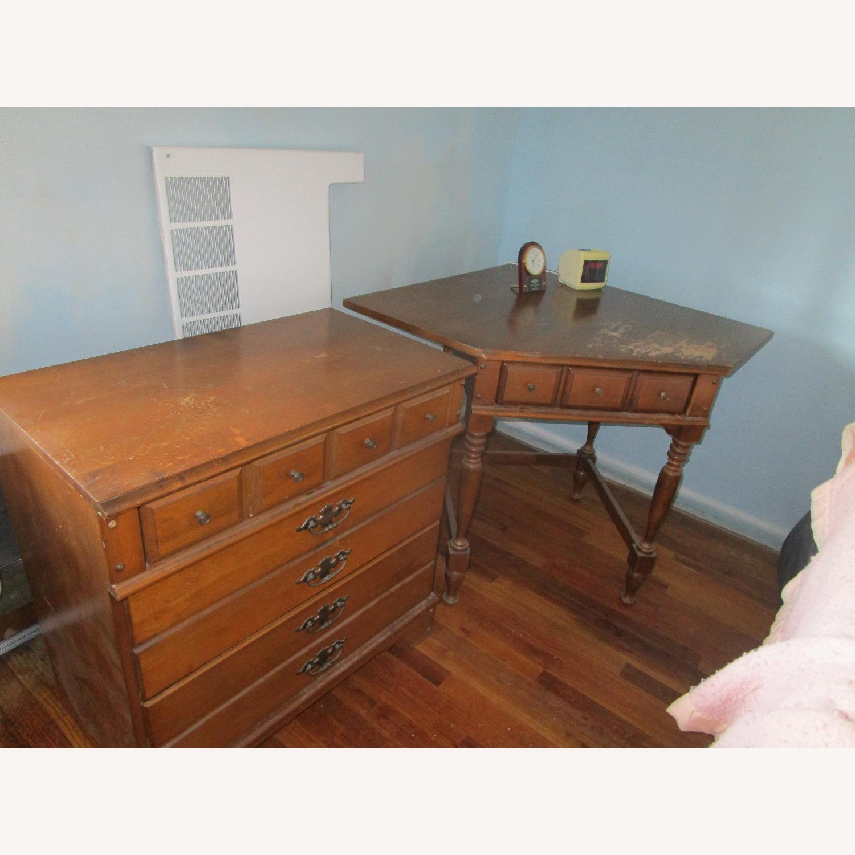 Maple Dresser, Desk, & Book Shelf Unit - image-3