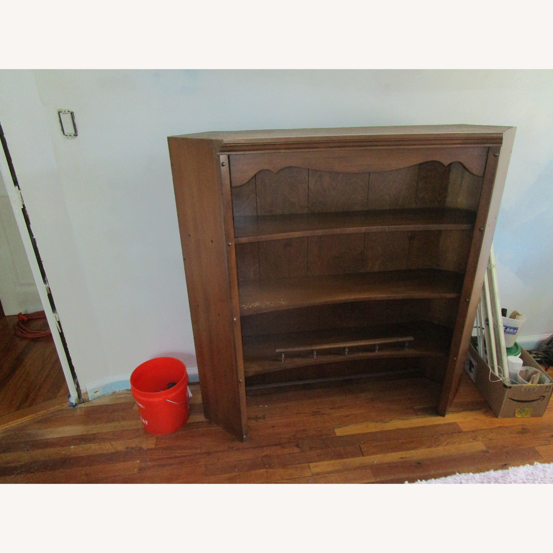Maple Dresser, Desk, & Book Shelf Unit - image-2