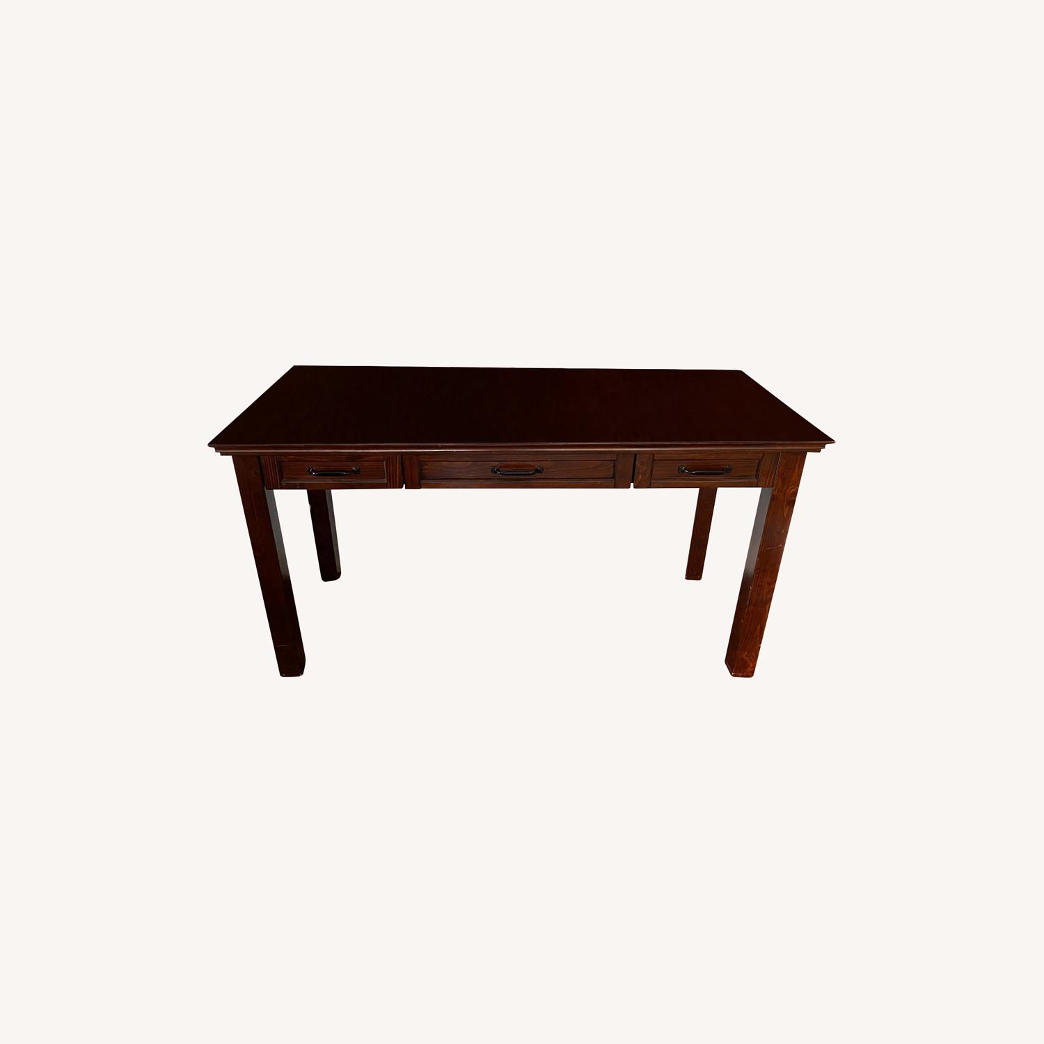 Pottery Barn Desk with Hutch - image-0