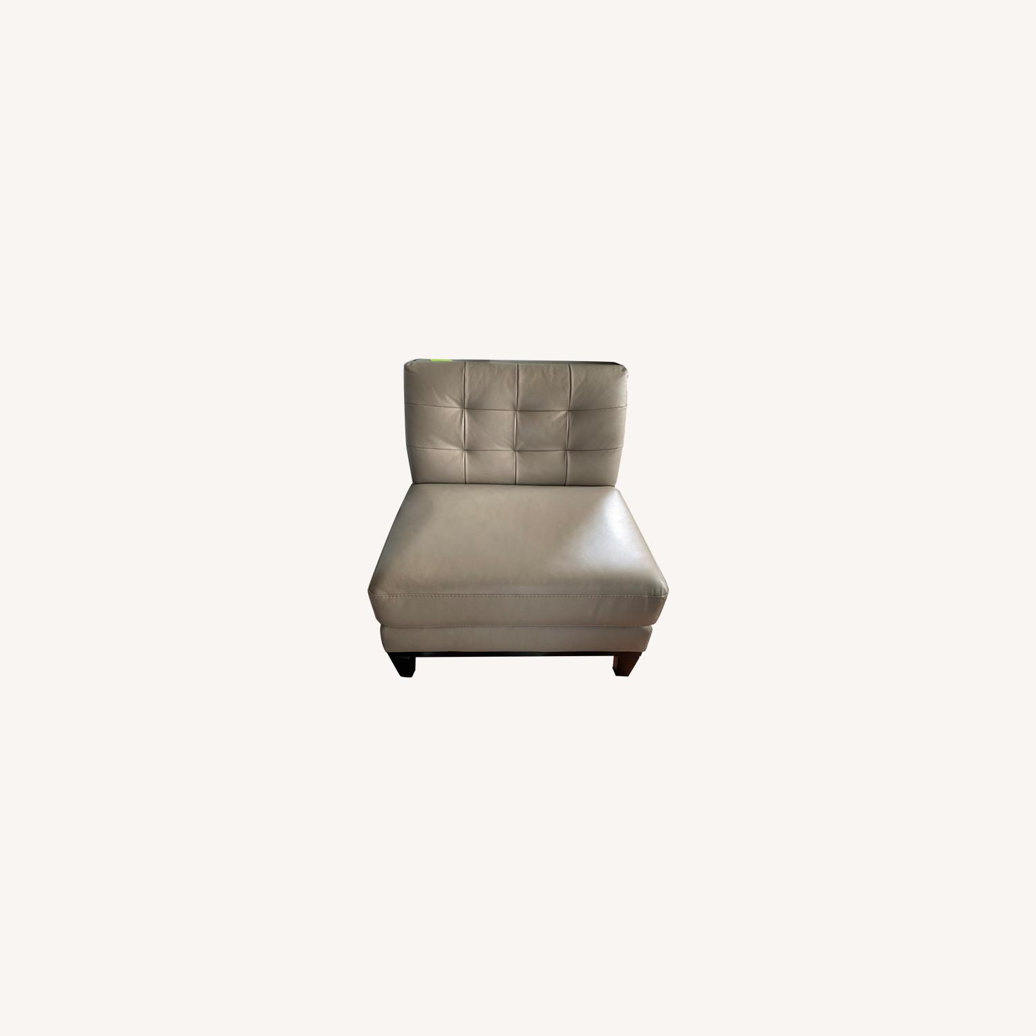 Macy's Leather Chair - image-0