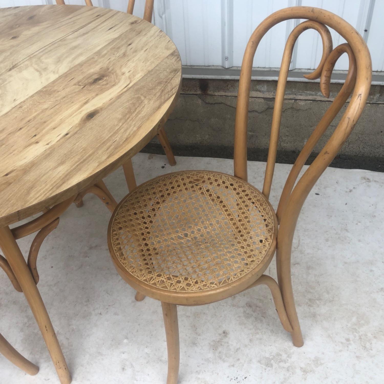 Vintage Boho Dining Set- Four Chairs - image-8