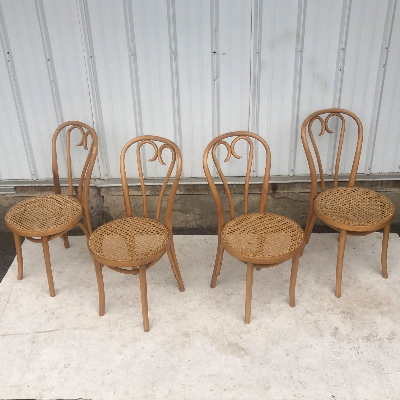 Vintage Boho Dining Set- Four Chairs - image-11