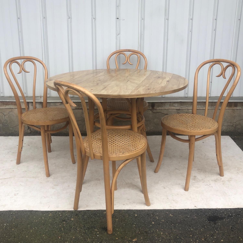 Vintage Boho Dining Set- Four Chairs - image-4