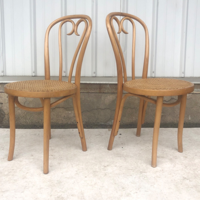 Vintage Boho Dining Set- Four Chairs - image-17