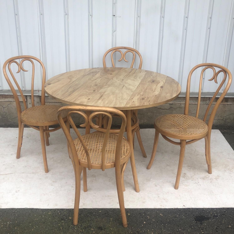 Vintage Boho Dining Set- Four Chairs - image-1